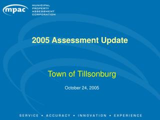 2005 Assessment Update