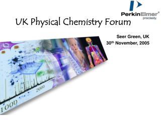 UK Physical Chemistry Forum