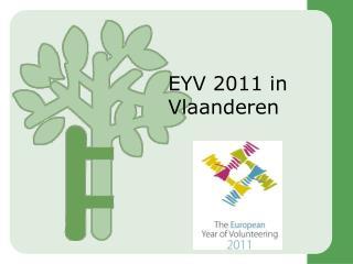 EYV 2011 in Vlaanderen