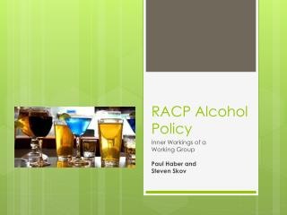 RACP Alcohol Policy