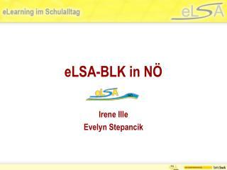 eLSA-BLK in NÖ