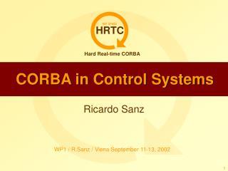 CORBA in Control Systems