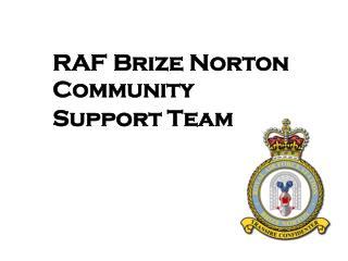RAF Brize Norton Community Support Team