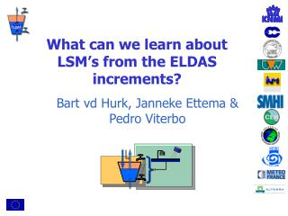 What can we learn about LSM's from the ELDAS increments?