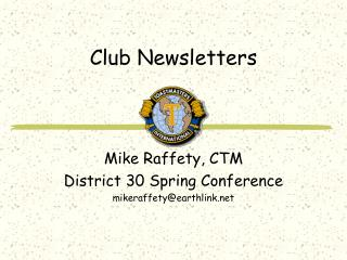 Club Newsletters