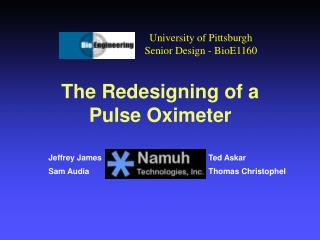 The Redesigning of a Pulse Oximeter