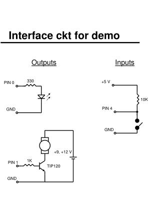 Interface ckt for demo