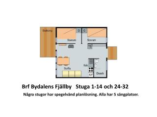 Brf Bydalens Fj�llby