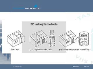 Ingeni�rens og arkitektens model samlet i Solibri