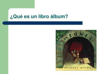 �Qu� es un libro �lbum?