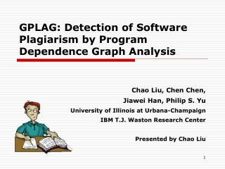 GPLAG: Detection of Software Plagiarism by Program Dependence Graph Analysis