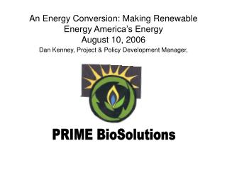 PRIME BioSolutions