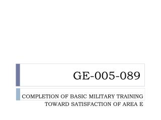 GE-005-089