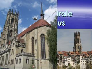 Die Kathedrale  St.Nikolaus in Fribourg