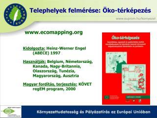 Kidolgozta:  Heinz-Werner Engel (ABECE) 1997