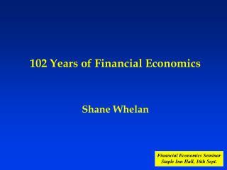 Shane Whelan