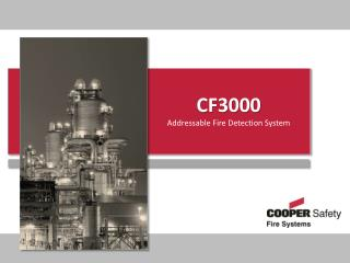 CF3000 Addressable Fire Detection System