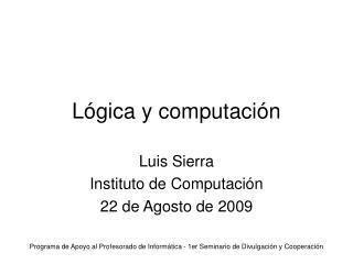Lógica y computación