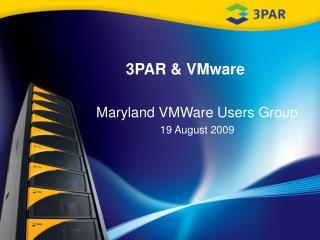 3PAR & VMware