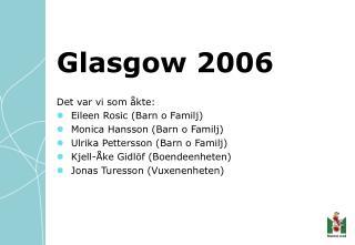 Glasgow 2006