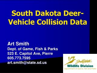 South Dakota Deer-Vehicle Collision Data
