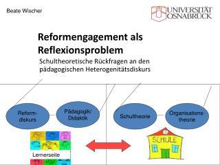 Reformengagement als Reflexionsproblem