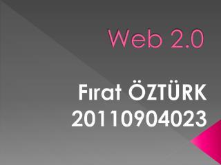 Web  2. 0