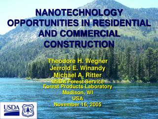 NANOTECHNOLOGY OPPORTUNITIES IN RESIDENTIAL AND COMMERCIAL CONSTRUCTION