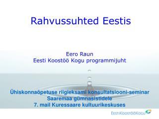 Rahvussuhted Eestis