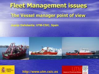 Fleet Management issues