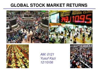 GLOBAL STOCK MARKET RETURNS