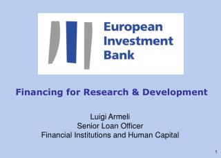 Financing for Research & Development