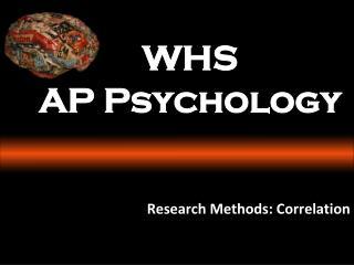 WHS AP Psychology