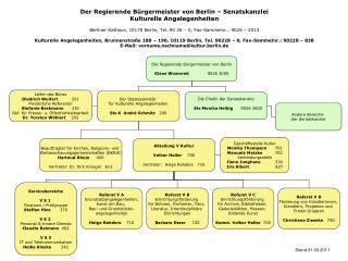 Der Regierende Bürgermeister von Berlin Klaus Wowereit               9026 3000