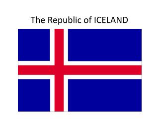 The Republic of ICELAND