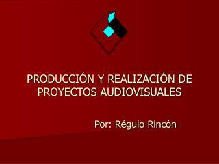PRODUCCIÓN Y REALIZACIÓN DE PROYECTOS AUDIOVISUALES