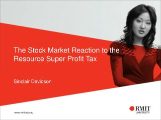 The Stock Market Reaction to the Resource Super Profit Tax
