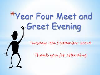 Year Four Meet and Greet Evening