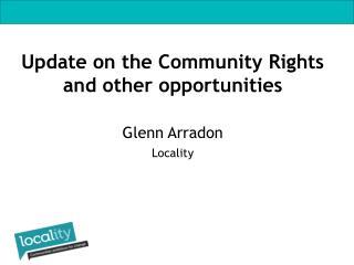 Glenn Arradon Locality