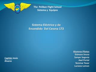 The  Pelikan Flight School Sistema y  Equipos