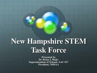 New Hampshire STEM Task Force