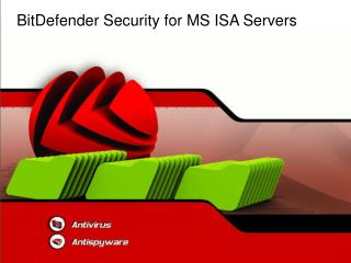 BitDefender Security for MS ISA Servers