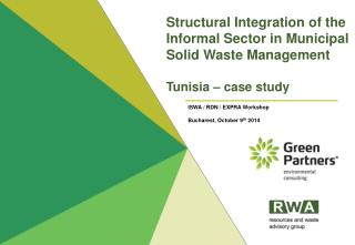 ISWA / RDN / EXPRA Workshop Bucharest , October  9 th  2014
