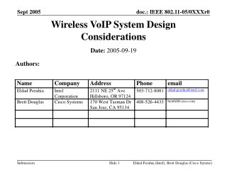 System integration of VoIP system and  mobile phone within
