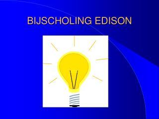BIJSCHOLING EDISON