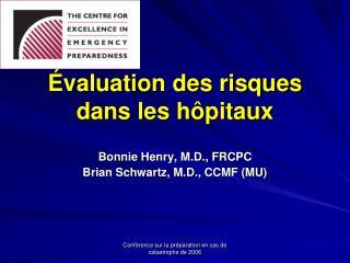 Évaluation des risques dans les hôpitaux