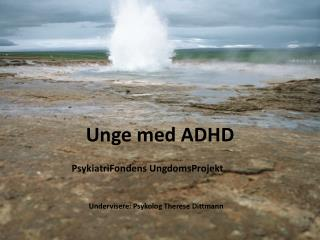 Unge med ADHD