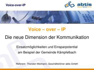 Voice-over-IP