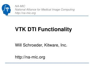 VTK DTI Functionality
