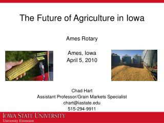 The Future of Agriculture in Iowa